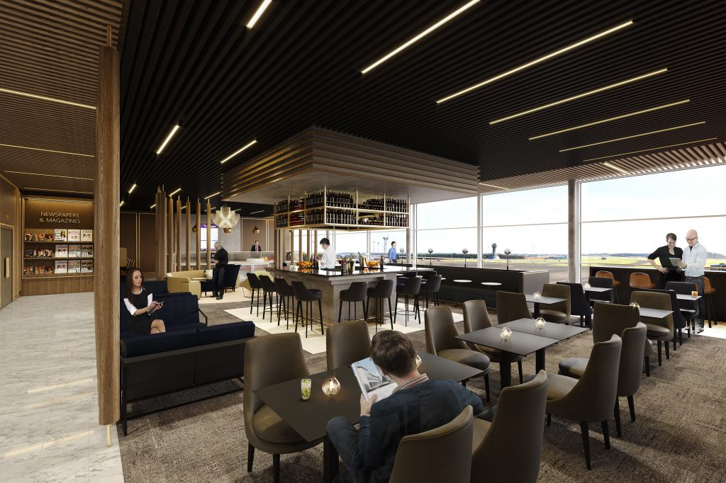 Business Lounge, Newcastle Airport